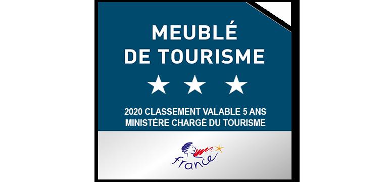 Meublé de Tourisme 2020 3 étoiles